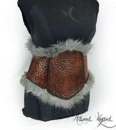 2d28f5dd8b0eb Corsé cinturón tribal de cuero femenino. Cinturón vikingo. Viking Cosplay