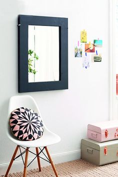 Part Mirror - 30 Small-Space Hacks You've Never Seen Before - Photos