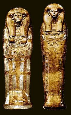 Coffins of Yuya. Before the discovery of Tutankhamen's opulent treasures, the tomb of Yuya and Tuyu was one of the most important burials to be found in the Valley of the Kings. Discovered on February 5th, 1905, by James Quibell and Theodore M. Davis, the tomb (designated KV 46) contained one of the most complete and beautifully made sets of funerary equipment then known.