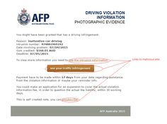 Copycat traffic infringement notice - http://www.mailshark.com.au/recent-security-news/copycat-traffic-infringement-notice-7798