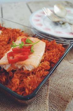 Salmon pasta Salmon Pasta, Recipe Ideas, Tacos, Artisan, Rice, Mexican, Ethnic Recipes, Food, Meals