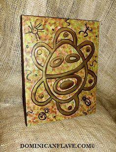 Taino Sun  Sol Taino by Esmirna809 on Etsy, $20.00