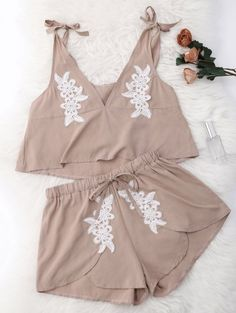 GET $50 NOW | Join Zaful: Get YOUR $50 NOW!http://m.zaful.com/drawstring-lace-applique-loungewear-suit-p_276084.html?seid=dd8bjki0rdrg5v8t3c9tq7vh34zf276084