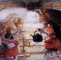 foxwood tales | ... servietten kinder foxwood tales 4725 foxwood tales serviette