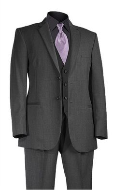 Build YOUR Tux. All gray with lavender tie