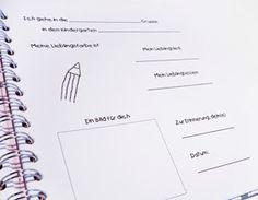 Divarah bloggt: Freundebuch für den Kindergarten