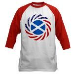 Scottish American Baseball Jersey #celebrate #scottishpride #scotland #multinational #flag #patriot #scottish #pride #whereareyoufrom #sameasyou #onjenayo
