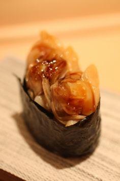 mie clams / sushi yoshitake / ginza