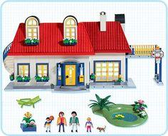 Playmobil modern house addition