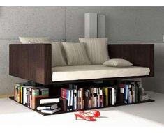 Couch Reading Bookshelf