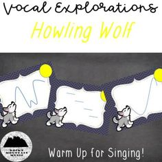 Wolf themed vocal exploration cards perfect for warming up students choirs for singing. Add this set to your collection, perfect for fall and Halloween! Singing Lessons, Singing Tips, Traveling Alone Women, Mountain Music, Music And Movement, Music Classroom, Classroom Resources, Piece Of Music, Music Covers