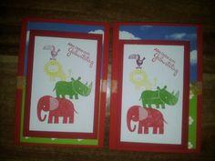 Kinder Geburtstagskarte