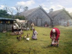 A Vikings Life and Village.. I can almost hear the Legio now!