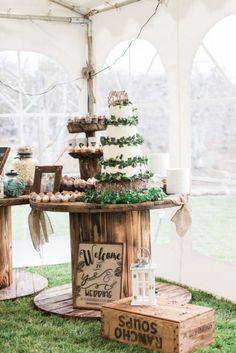 Outdoors DIY Style Wedding - Rustic Wedding Chic