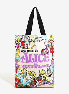 10a3a59481 Loungefly Disney Alice In Wonderland Tote - BoxLunch Exclusive