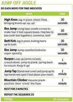 .Cardio Workout