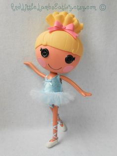 Lalaloopsy Clothes - Custom Short Tutu - Made to Order - You Choose the Colors - TUTU ONLY