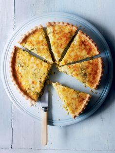 This versatile vegetarian tart recipe is perfect for informal entertaining or the family.