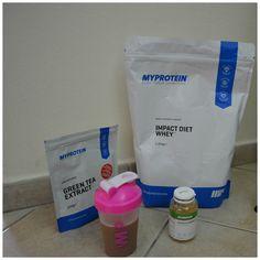 Alimenti proteici My Protein Italia  -Estratto di tè verde -Impact Diet Whey -Omega3