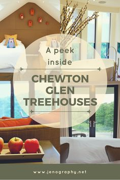 Ever wanted to stay in a luxury treehouse? Get a tour around a family treehouse at Chewton Glen, one of the UK's premier country house hotels