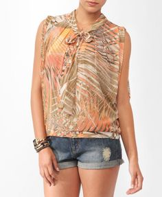 Abstract Split Dolman Top | FOREVER21 - 2000040998