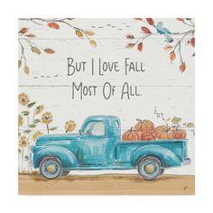 Fall painting Ideas - Trademark Fine Art 'Fall Market IV' Canvas Art by Daphne Brissonnet. Fall Canvas Painting, Autumn Painting, Autumn Art, Diy Canvas, Fall Paintings, Canvas Ideas, Christmas Canvas Paintings, Framed Canvas, Tole Painting