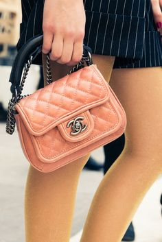 #CHANEL turns us into total bag ladies. http://www.thecoveteur.com/chanel-springsummer-2015