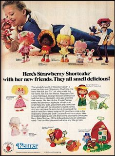 Strawberry Shortcake my she's looking swell. Cute little doll with a strawberry smell! 1980s Childhood, My Childhood Memories, Nostalgia, Retro Toys, Vintage Toys, 1980s Toys, Jem Et Les Hologrammes, Vintage Strawberry Shortcake Dolls, 80s Kids