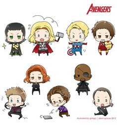 The Avengers       (..... I can't help but think of how much Thor looks like France from Hetalia, Bruce Banner looks like Austria also from Hetalia, and Captain America looks like America from Hetalia without the glasses.... at least... in this picture...)