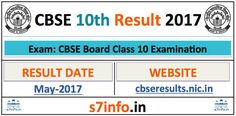 cbseresults.nic.in – CBSE 10th Result 2017, CBSE Board 10th Class Result
