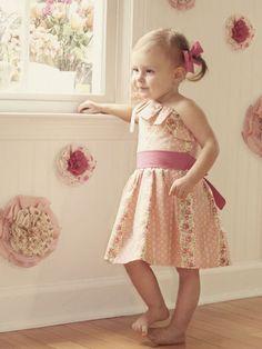 Stella One Shoulder Dress Sewing Pattern