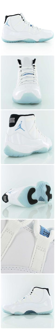 This is it - the sneaker you've been waiting for all year! The AIR JORDAN 11 RETRO 'LEGEND BLUE' is finally releasing on Saturday, Dec. Nike Air Jordans, Jordans Sneakers, Shoes Sneakers, Retro Jordans, Sneakers Fashion, Cute Shoes, Me Too Shoes, Zapatillas Jordan Retro, Curvy Petite Fashion