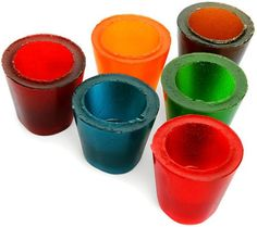 Jelly Shots | 19 Shot Glasses You Can Eat