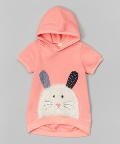 Love this Pink Bunny Hoodie - Infant, Toddler & Girls by Leighton Alexander on #zulily! #zulilyfinds MOM Buy this for Trixie!!!