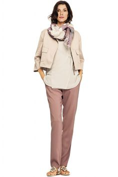 Fabiana Filippi, Весна-лето 2014, Ready-To-Wear, Милан Angelina Jordan, Pink Pants Outfit, Ibiza, Business Casual, Capsule Wardrobe, Brunello Cucinelli, New Look, Spring Fashion, Ideias Fashion