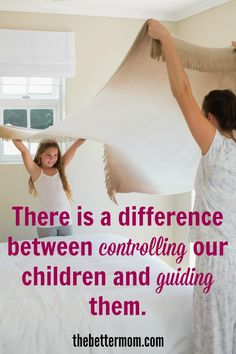 Children need to be loved, respected, protected, provided w/ choices and guided - NOT controlled.