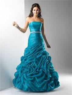 A Line Organza Prom Dress 2013 APR110029