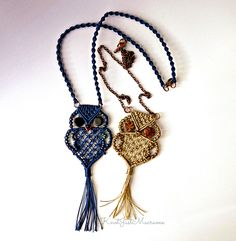 Let's face it: it's just not a macrame party until somebody busts out an owl. There's nothing more iconic than the knotted owl; in fa...