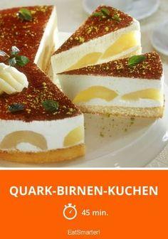 Quark-Birnen-Kuchen - smarter - Zeit: 45 Min.   eatsmarter.de