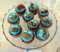 Snekkerfrue: Monster muffins | Monster Cupcakes - Kakemonster!