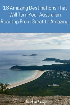 18 Amazing Destinations That Will Turn Your Australian Road Trip From Great to Amazing | Travel Far Enough | There are pockets of Australia that are breathtakingly beautiful. Part of me doesn't want to share this information, but another part of me feels compelled to because everyone should experience these places in their life.