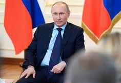 Pressekonferenz zur Ukraine: Putin macht sich die Welt