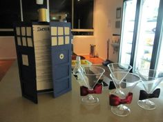 """Doctor Who themed party. All I could say was """"yes, yes, yes, and YES."""""""