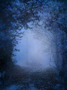 silver blue mist