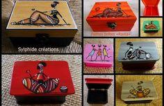 Boîtes peintes