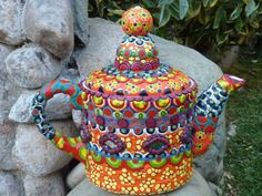 You can never have too many teapots and this one is so cool, I can hardly stand it!