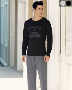 Şahinler Önü Baskılı Pijama Takım Long Sleeve, Sleeves, Mens Tops, T Shirt, Fashion, Babydoll Sheep, Supreme T Shirt, Moda, Tee Shirt