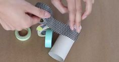 Who knew that a toilet paper roll could be used to make cute and helpful organizers! Watch the...