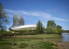 La Cité du Vin, a new wine museum in Bordeaux by XTU Bordeaux France, Bordeaux Wine, Design Blog, Store Design, Geometry Pattern, Dezeen, Modern Architecture, World, City
