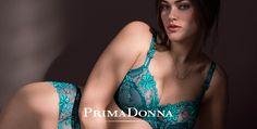 Sujetador Kensington Primadonna. Uno de los sujetadores mas lujosos de la firma belga. Esta vez en nuevo color verde acuamarina. Precioso! www.lenceriaemi.com